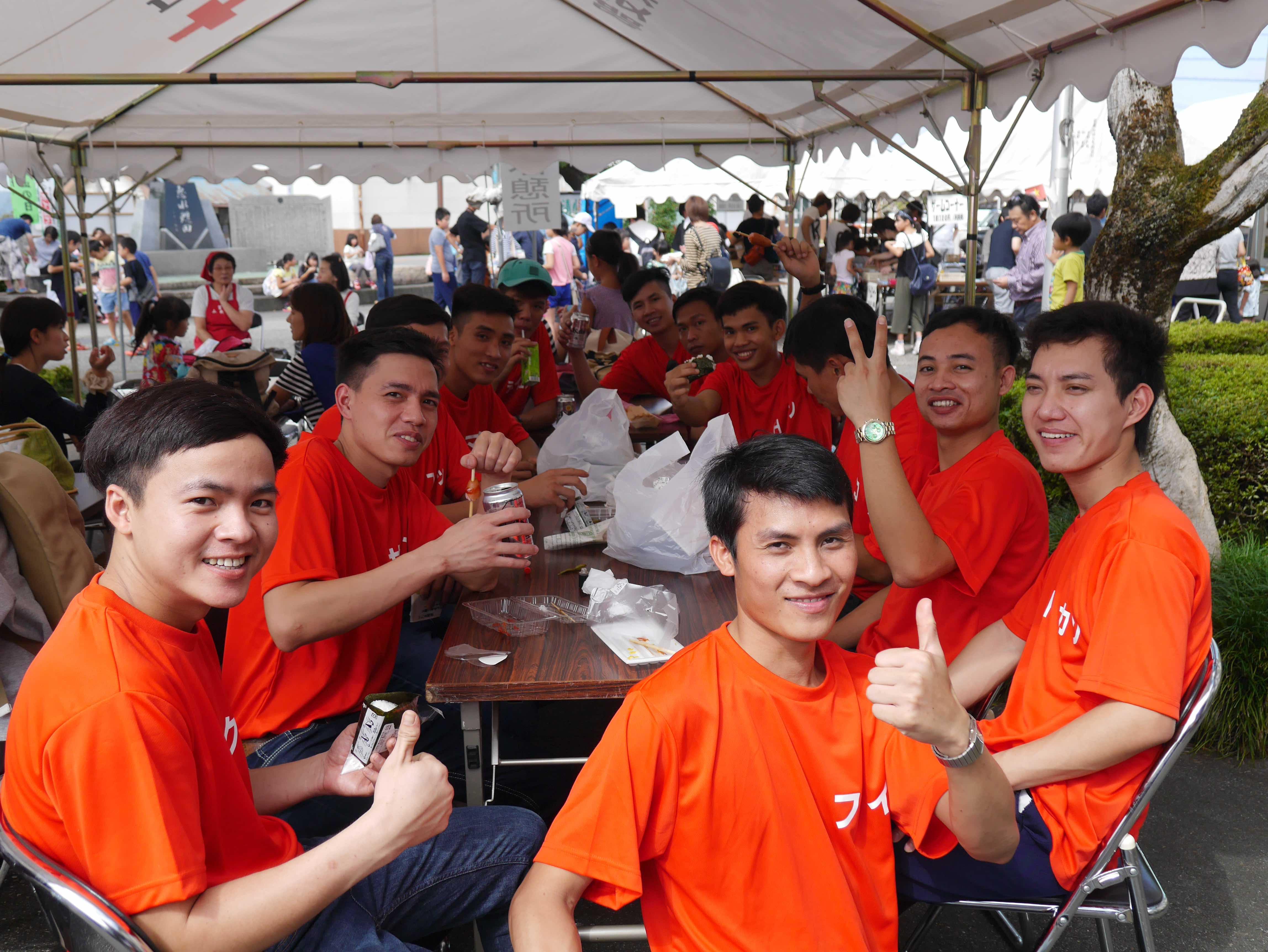 ベトナム実習生と地域国際交流!宮川地区ふれあい祭りに参加しました。の画像