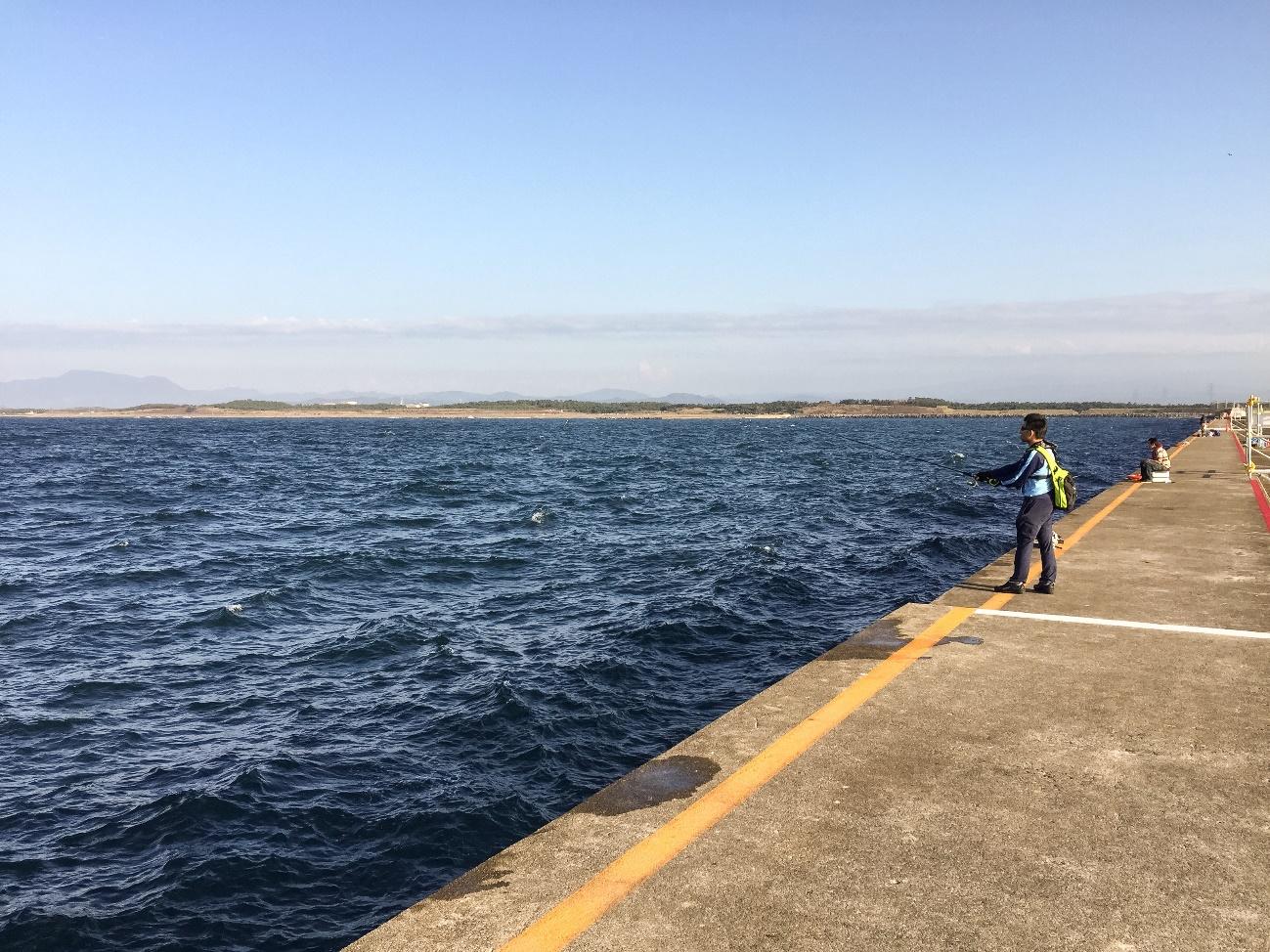 オスカー釣り部初めての遠征で直江津港への画像