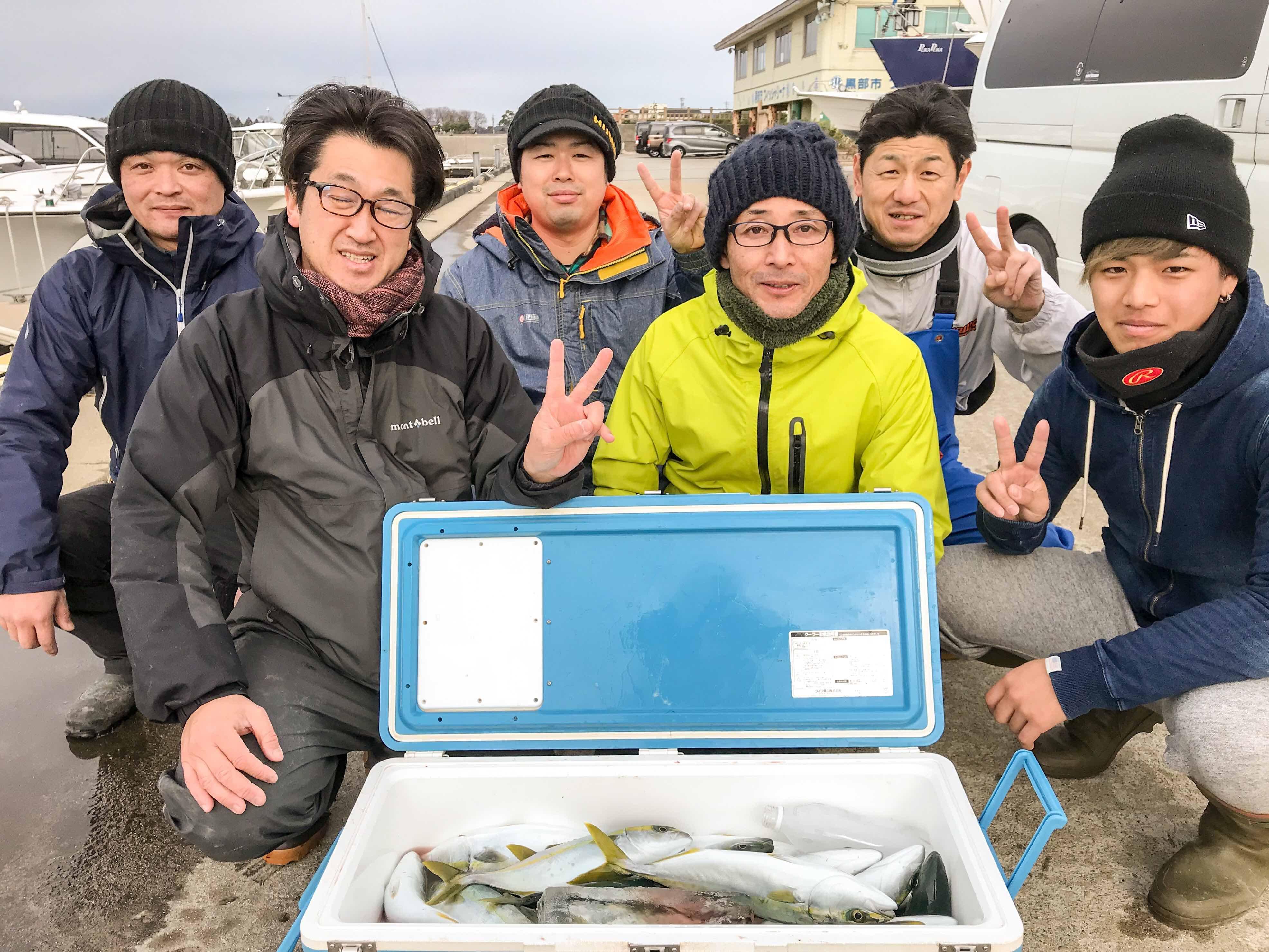 オスカー釣り部、寒ブリ釣行チャレンジへの画像