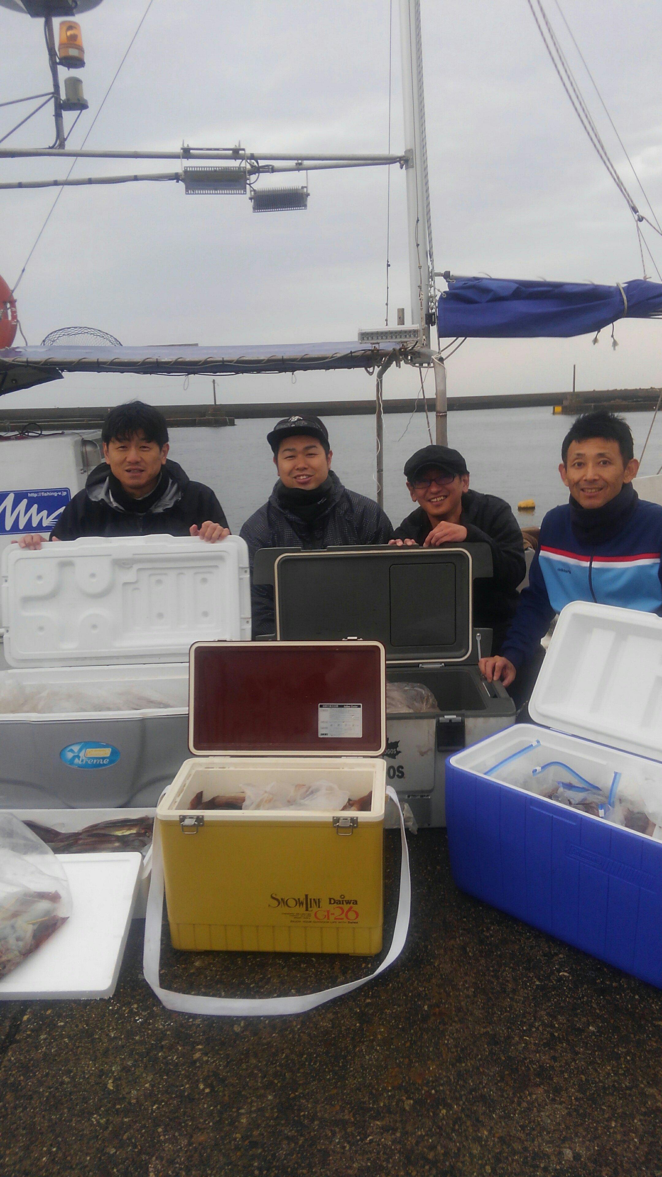 オスカー釣り部、スルメイカ編。もはや釣りではなく漁?!の画像