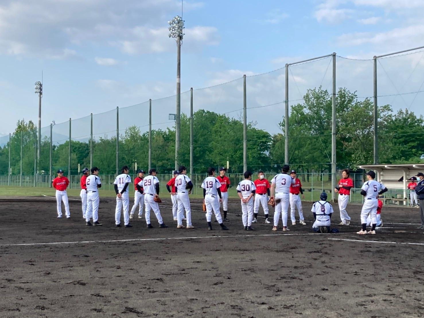 オスカー野球部、練習試合と公式戦の結果の画像